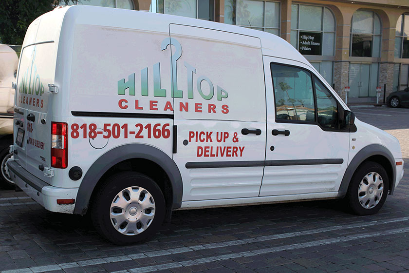 Pickup and Delivery Dry Cleaners Encino