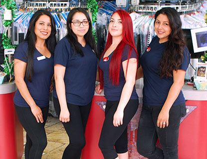 Hilltop Cleaners Counter Girls Dry Cleaners Encino